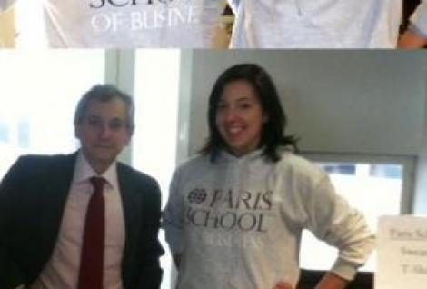 Paris School of Business branded clothing