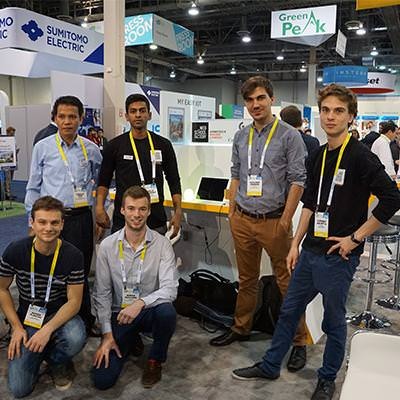 Students at CES in Las Vegas