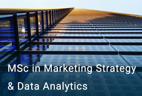 MSc in Marketing Strategy & Data Analytics