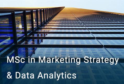 MSc in Marketing Strategy & Data Analytics